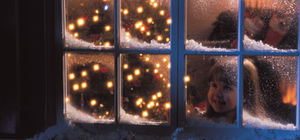 LITTLE GIRL IN WINDOW