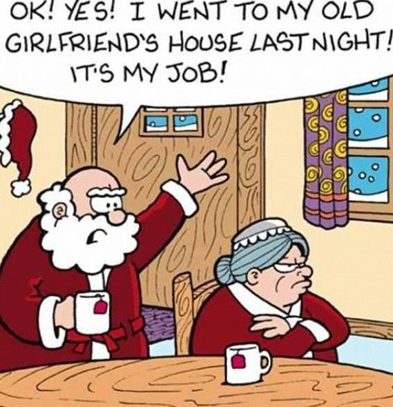 SANTA'S OLD GIRLFRIEND